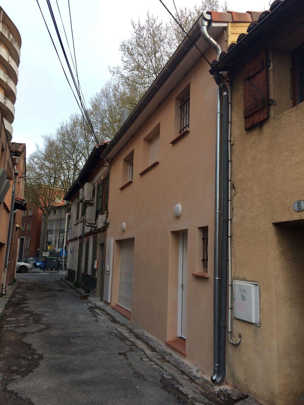 Rénovation d'une maison de ville à Toulouse