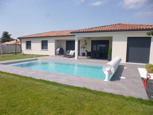 Construction – Maison individuelle avec piscine à Tournefeuille
