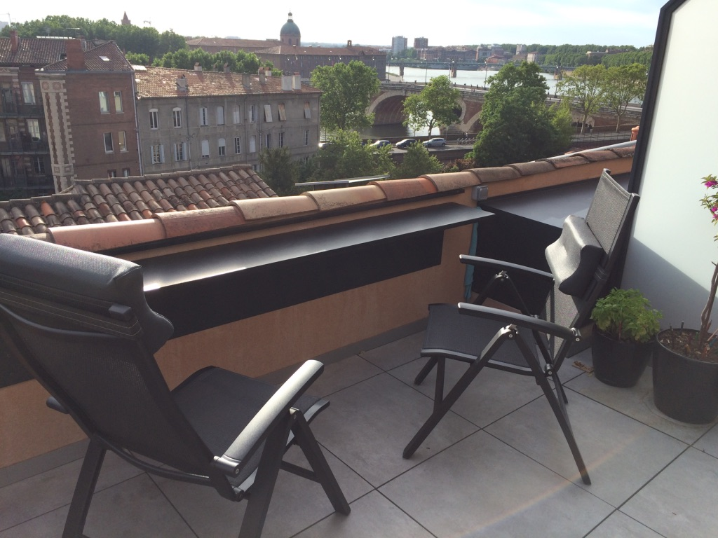 Rénovation et extension d'une terrasse en centre ville Toulouse