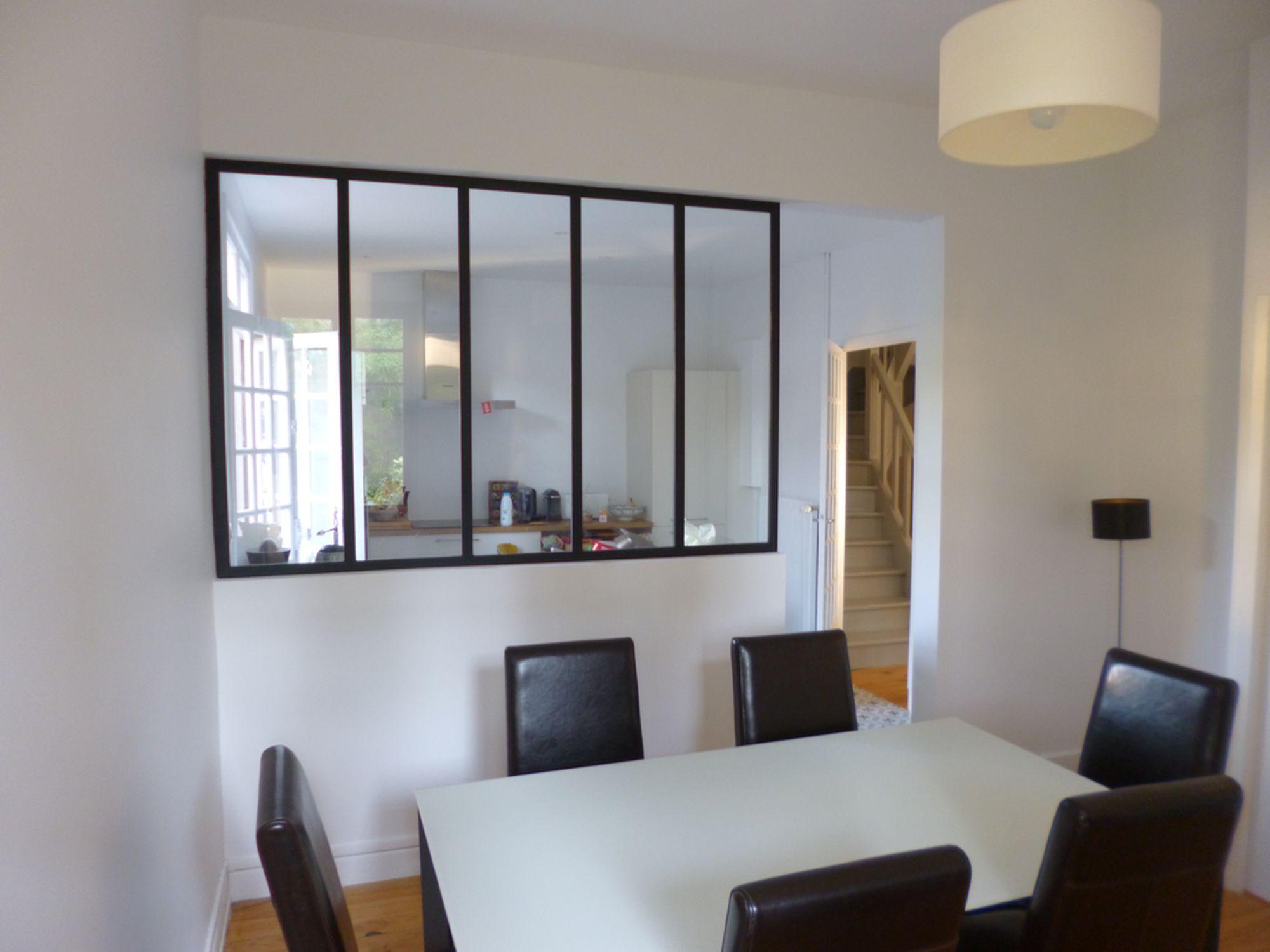 ouverture d un mur porteur r alisations capela. Black Bedroom Furniture Sets. Home Design Ideas
