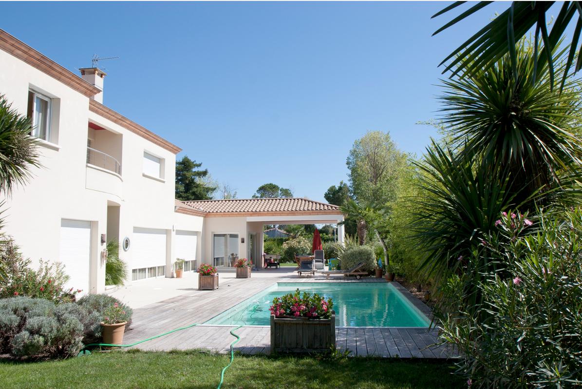 Construction d'une maison individuelle avec sa piscine à Tournefeuille